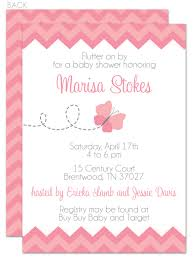 Baby Shower Invitations Card Butterfly Baby Shower Invitations Theruntime Com
