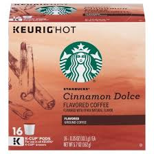 starbucks cinnamon dolce coffee k cup pods 16ct target