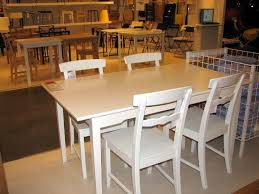 Carpeted Dining Room Ikea Dining Room White Dining Table Furniture Sets Sillver Chromed