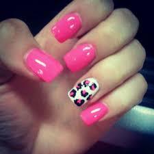pink cheetah print nails best nail designs 2018