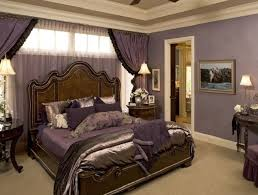 traditional romantic master bedroom ideas with purple wall color traditional romantic master bedroom ideas with purple wall color and wooden curvy headboard