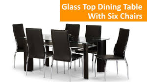 Dining Room Table 6 Chairs Latest Wooden Dining Table Glass Top Jali With 6 Chairs Kreft