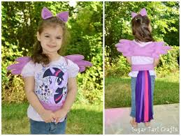 Twilight Sparkle Halloween Costume Ponies Unicorns Pegasi Stitch Pink