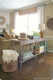 sofa cute sofa table decor farmhouse accent entry sofa table
