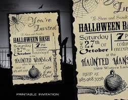 Birthday Halloween Costume Ideas Best 25 Halloween Invitations Ideas Only On Pinterest