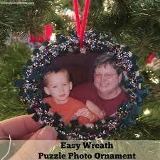easy wreath puzzle photo ornament jpg