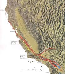 San Francisco County Map by San Andreas Fault