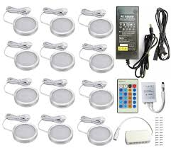 puck under cabinet lighting online store aoxled led under cabinet lighting kit 2040lm puck