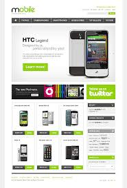 flash magento theme mobile phone store 36283