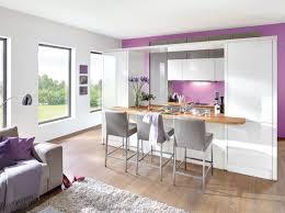 deco salon ouvert sur cuisine decoration cuisine americaine salon en image deco maison ouverte
