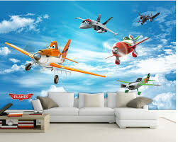 3d mural designs picture more detailed picture about 3d mural 3d mural designs airplane cartoon animation custom photo wallpaper 3d stereoscopic wallpaper living room tv background