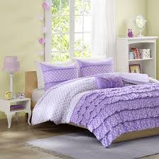 purple satin comforter sets target