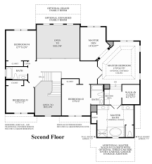 Traditional Floor Plan Liseter The Merion Collection The Duke Home Design