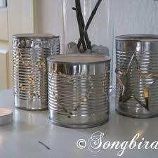 Tin Can Table Decorations Tin Lanterns Diy Light Tip Junkie