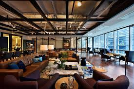 designer hotel the great room brings touch of designer hotel luxe to co working
