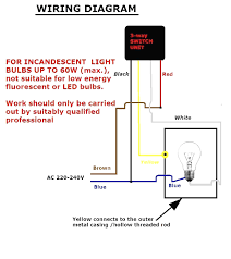 how to wire bulb by one way switch electrical online 4u brilliant