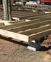 deck plans home depot floating deck blocks tips and ideas on how to build a floating deck