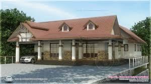 kerala house plans cochin 3 bed rooms single floor dream house