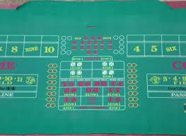Crap Table For Sale Golden Nugget Casino Las Vegas Authentic Craps Layout 14 U0027 Table