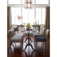 French Dining Room Furniture Pierre French Industrial Bluestone Bistro Dining Table 64 Inch