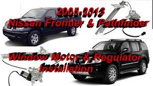 power window switch kit nissan frontier window motor and regulator installation youtube