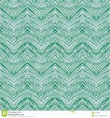 emerald green hand drawn vector zigzag pattern stock vector