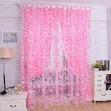 Sheer Scarf Valance Window Treatments New Floral Tulle Voile Door Window Curtain Drape Panel Sheer Scarf