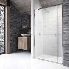 kudos 8 p8sr100 1000mm sliding shower door for recess