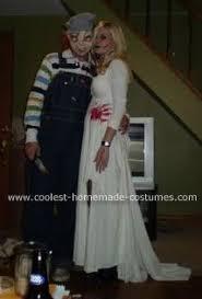 Chucky Bride Halloween Costume Chucky Bride Chucky Costume Chucky Halloween Costume
