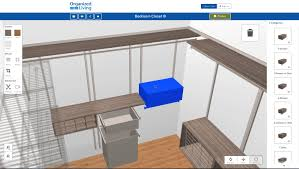 Program To Design Kitchen New 3d Closet Design Tool Organizedliving Com Youtube