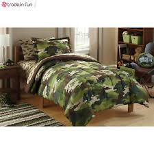 Army Bed Set Boys Comforter Set Army Bed In A Bag 5 Pcs Bedding