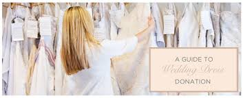 wedding dress donation donate your wedding dress options to help make a difference with
