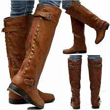 ugg womens boots knee high womens jm18 zipper studded knee high boots usa