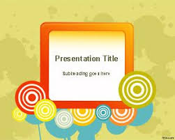 free circles powerpoint templates