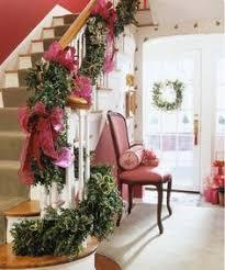 Banister Christmas Ideas Weihnachtsdeko Mit Tannengirlanden Treppengeländer Christmas