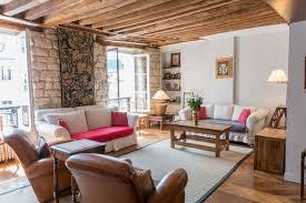 1 bedroom paris rental on historic rue du dragon in saint germain dragon living room