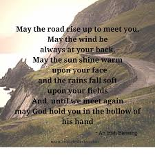 wedding quotes road may the road rise up to meet you gift idea travel