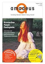 Wellmann K Hen Amadeus Magazin 24 2012 By Amadeus Verlag Issuu