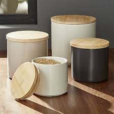 canisters kitchen kitchen canisters crate and barrel