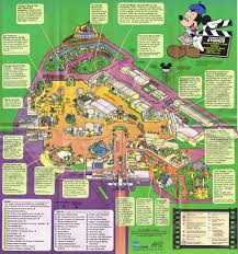 Disney Florida Map by Disney Mgm Studios Guidemaps 1995 1991 Page 5