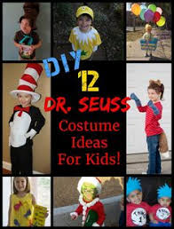 Dr Seuss Characters Halloween Costumes Homemade Dr Seuss Cat Hat Costumes Coolest Halloween