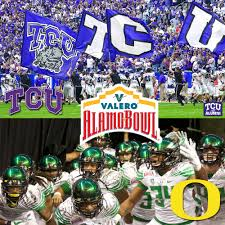 Tcu Parking Map 15 Oregon And 11 Tcu Match Up In Valero Alamo Bowl Valero Alamo