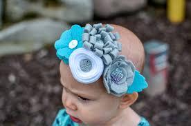 felt flower headband felt flower headband