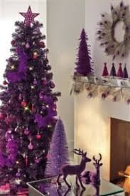 purple plum tree and decorations from next purple