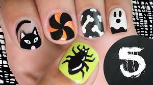 12 easy step by step halloween nail art 20 easy step by step