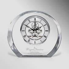 personalized desk clocks myron promos