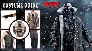 bane costume buy bane costumes on sale diy bane costume