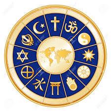 World Religion Map World Religions Surrounding Earth Map Islam Christianity