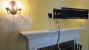 wonderful mounting tv over fireplace part 2 stupefying wall