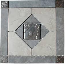 Tile Medallion Backsplash by 266 Best Kitchen Backsplash U0026 Floor Tile Images On Pinterest